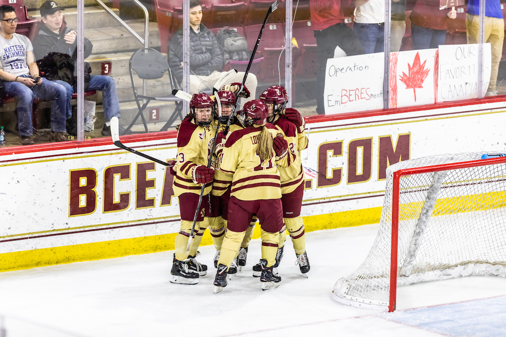 Unexpected Heroes Lift BC Past UConn to Hockey East Semifinals