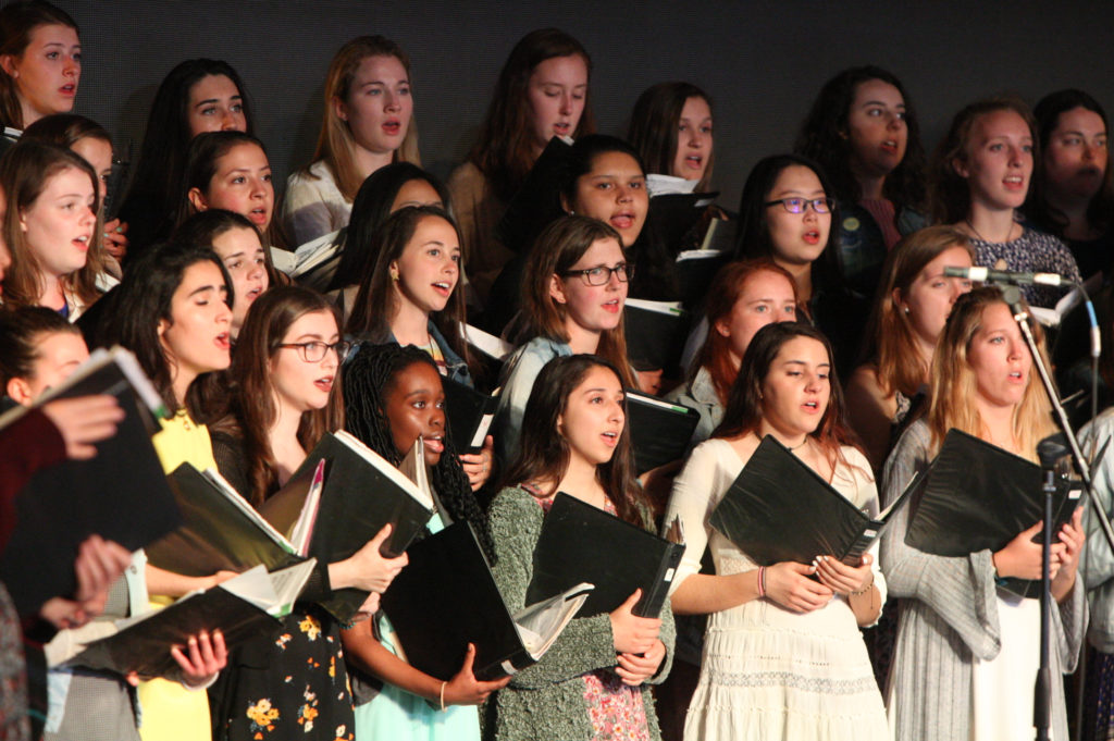 University Chorale Blends Religious and Secular Pieces