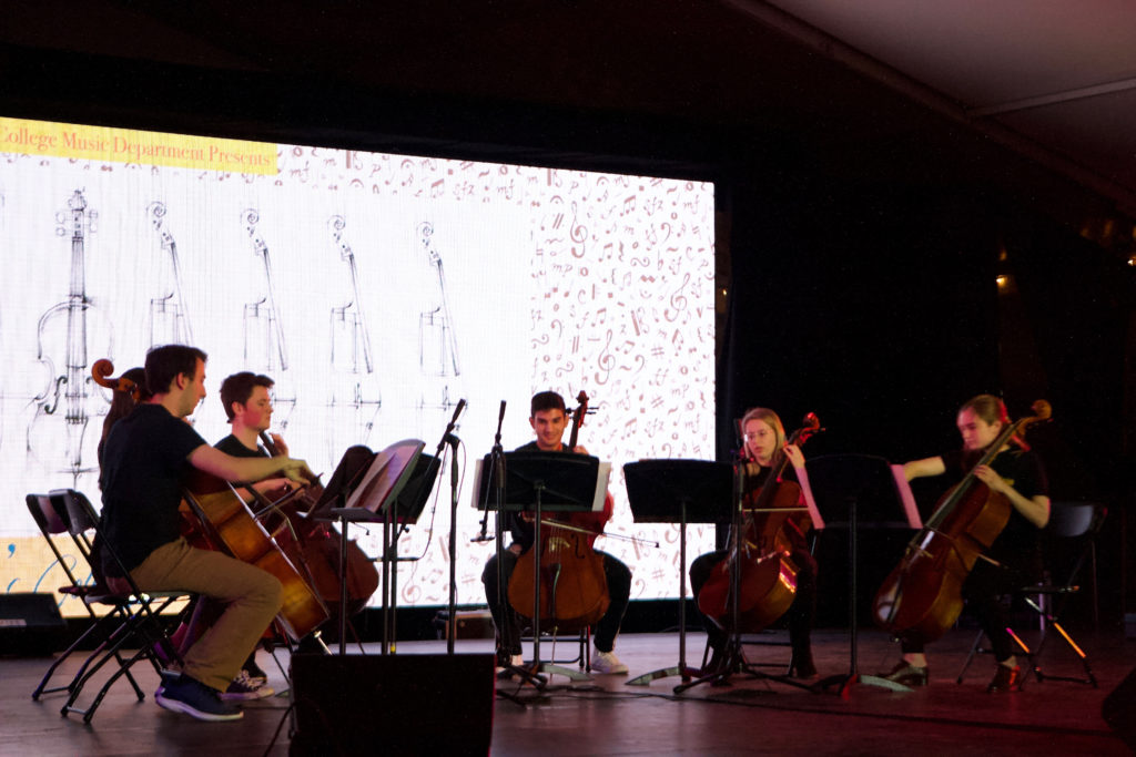 Flute and Cello Ensembles Garner Approval with Hit Songs
