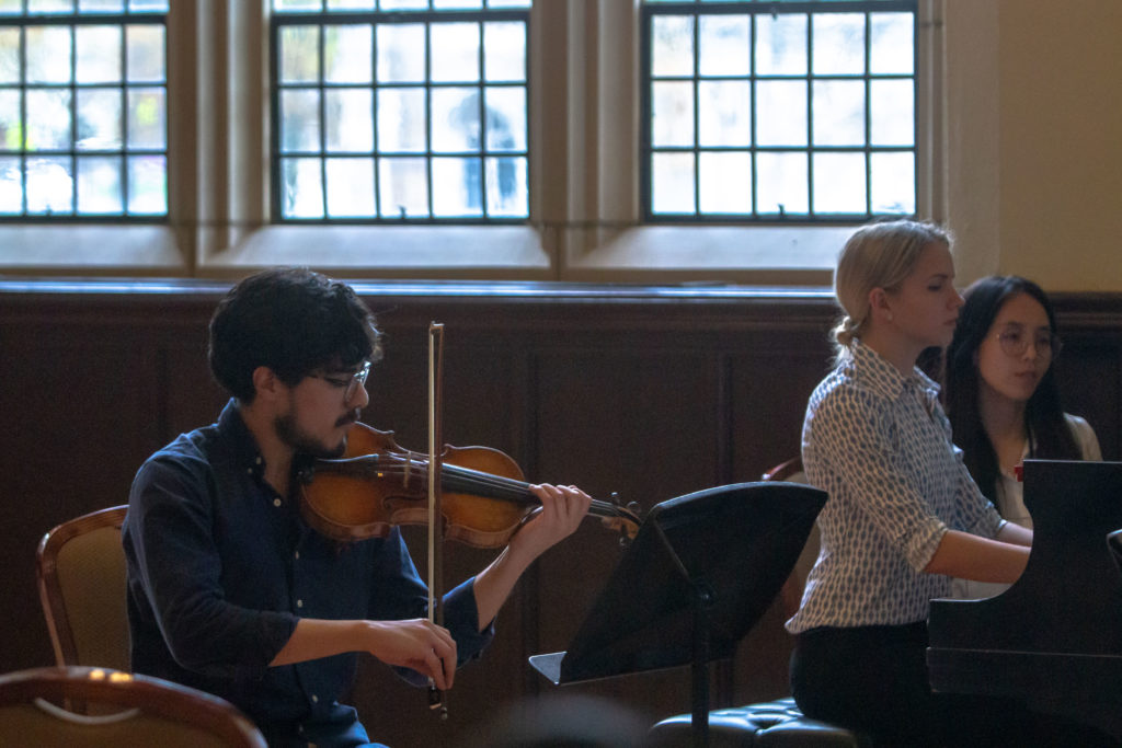 Collaboration Thrives in Chamber Music Society Concert