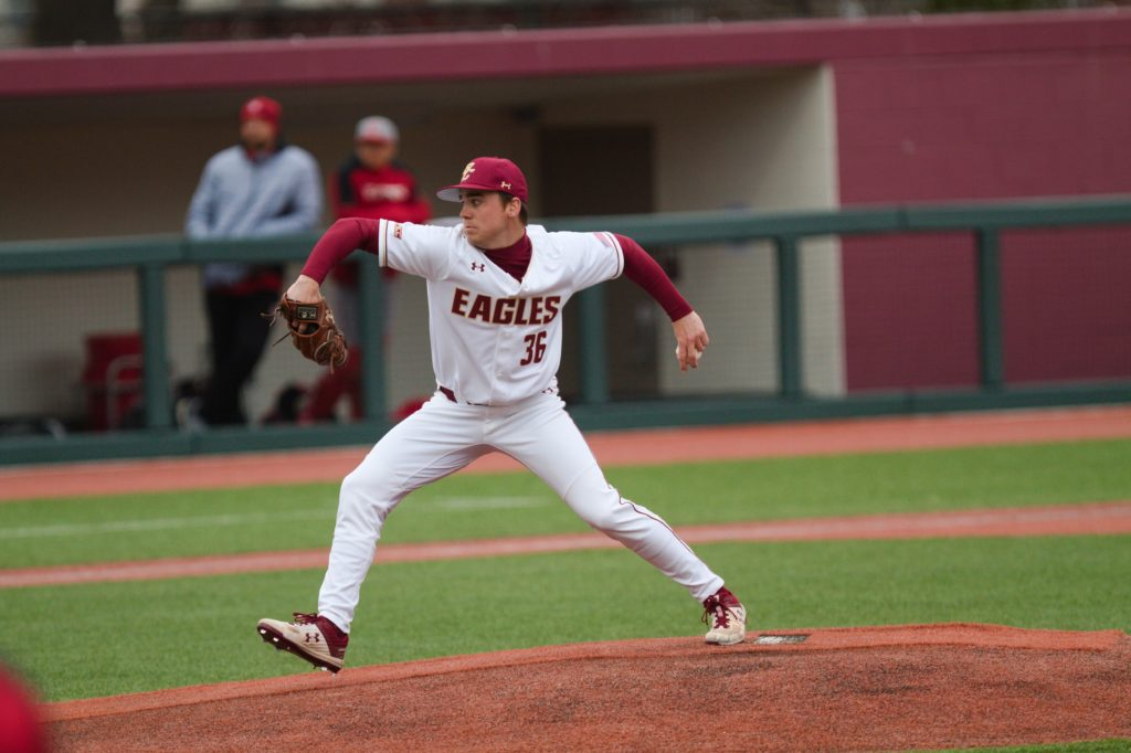 Behind Metzdorf's Gem, BC Beats Duke in Series Opener