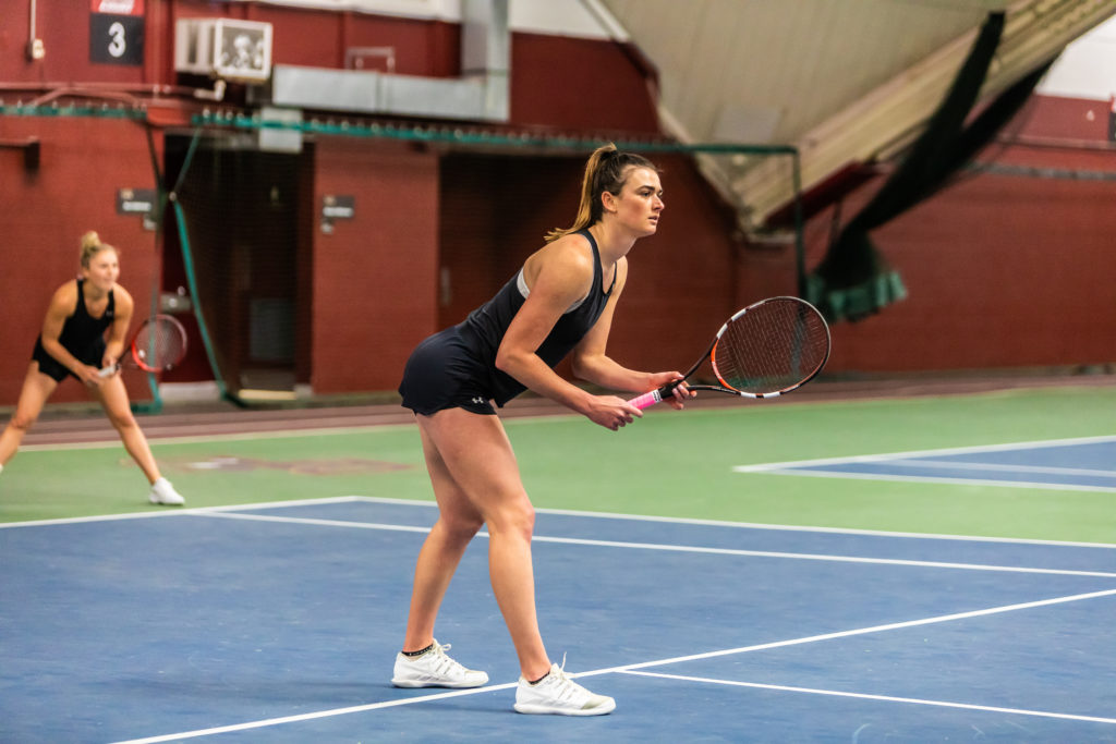 Women's Tennis Swept by Duke to End Regular Season