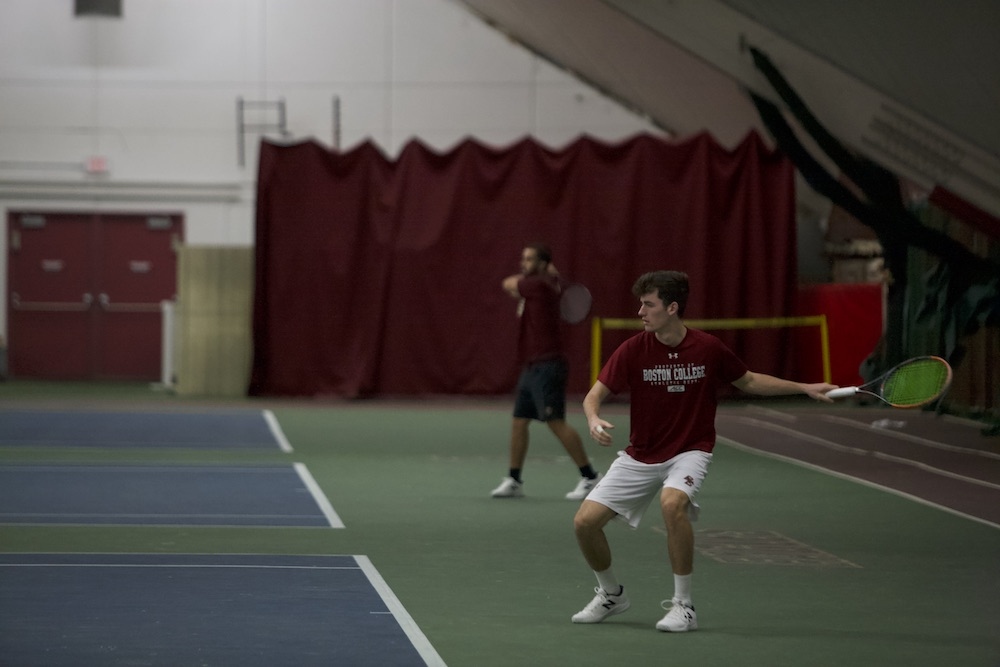 Slumping Tigers Pull Out Victory Over Men's Tennis