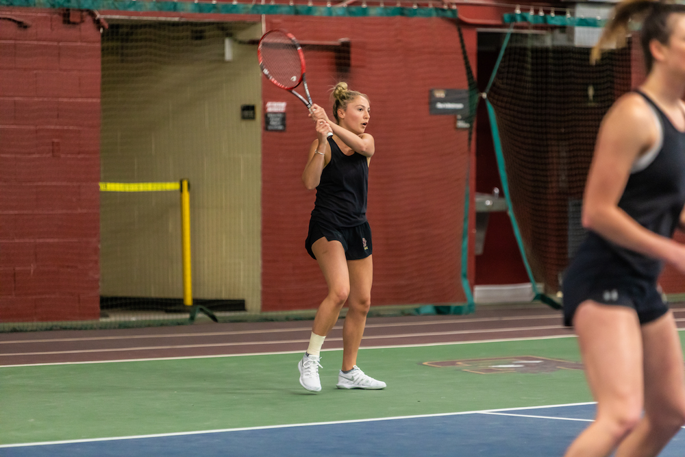 Notre Dame Brings Women's Tennis Back to Earth With Comfortable Win