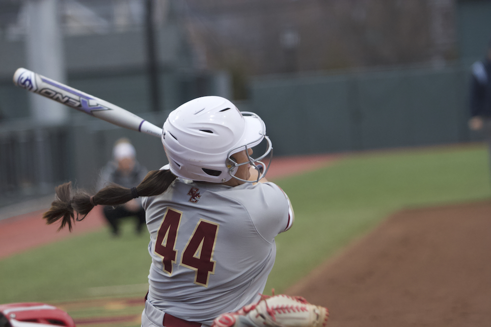 Martinez's Eighth-Inning Double Lifts Eagles Past UConn
