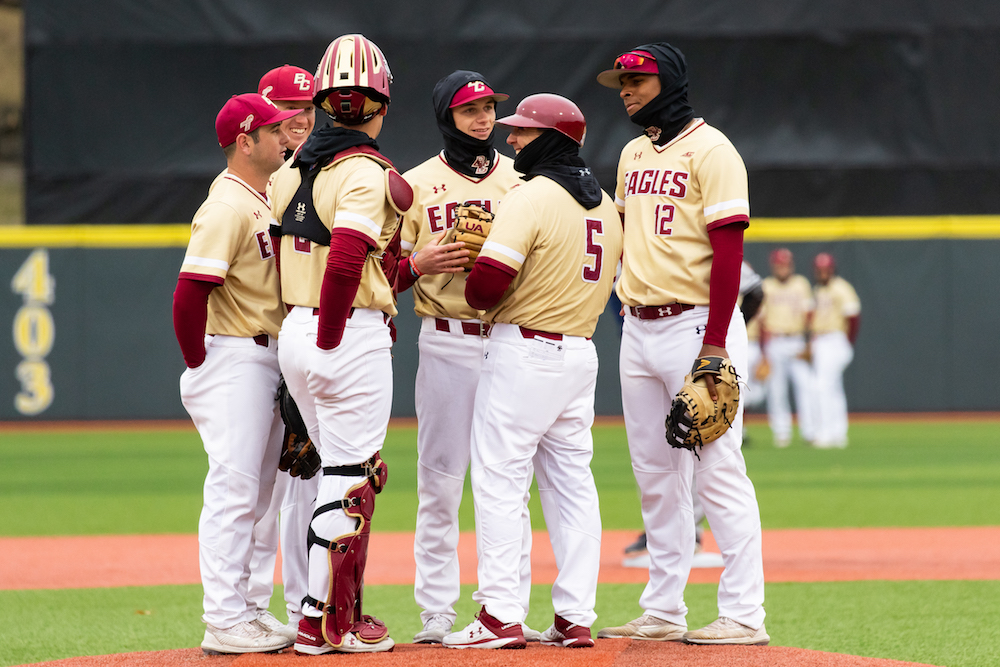 BC Pitching Staff Impresses in Shutout of Rhode Island