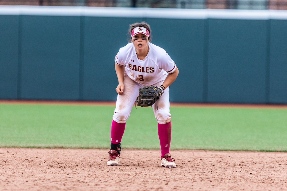 Eagles Skid Hits Six as Notre Dame Sweeps Weekend Series
