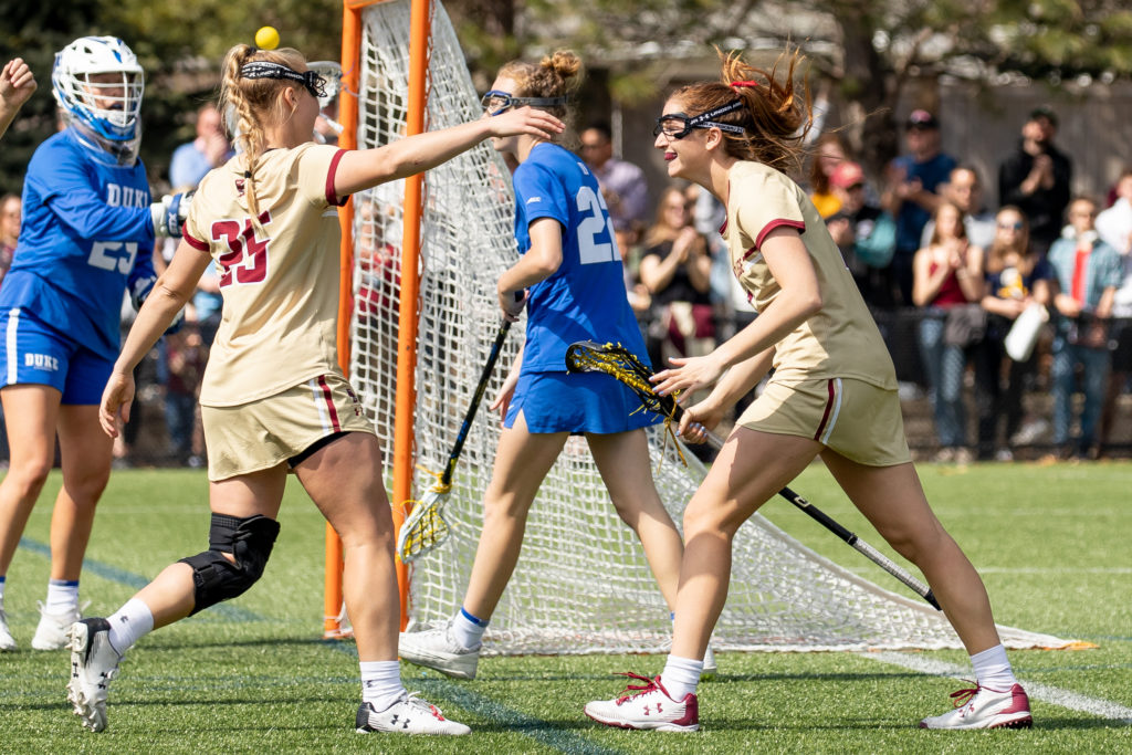 BC Pulls Away From No. 13 Duke, Remains Perfect