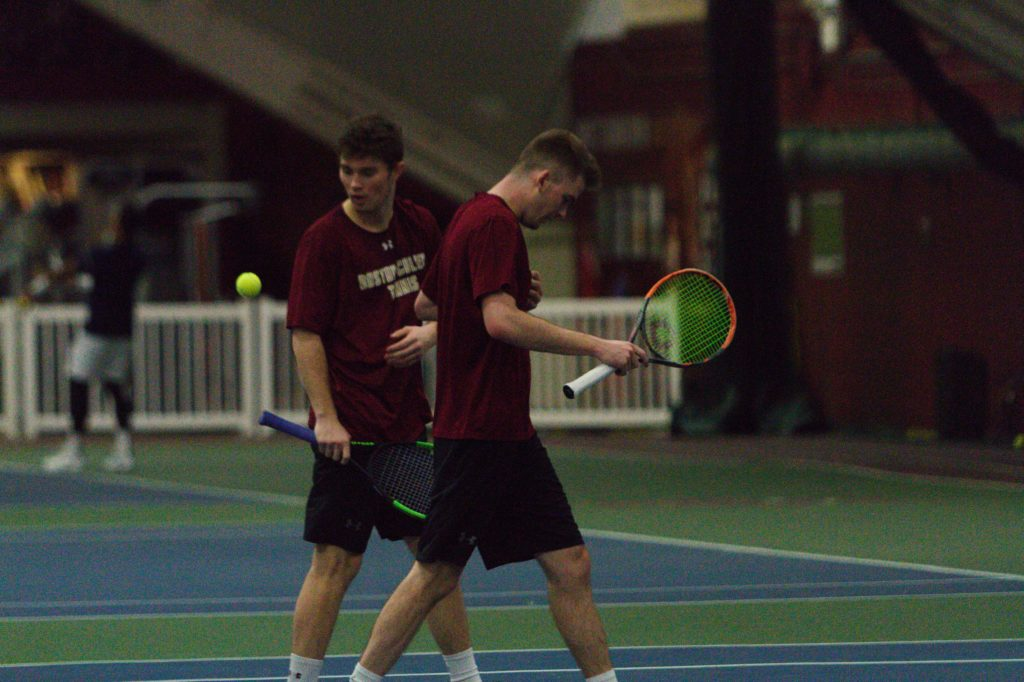 Men's Tennis Drops 10th Conference Match, Falls to UNC