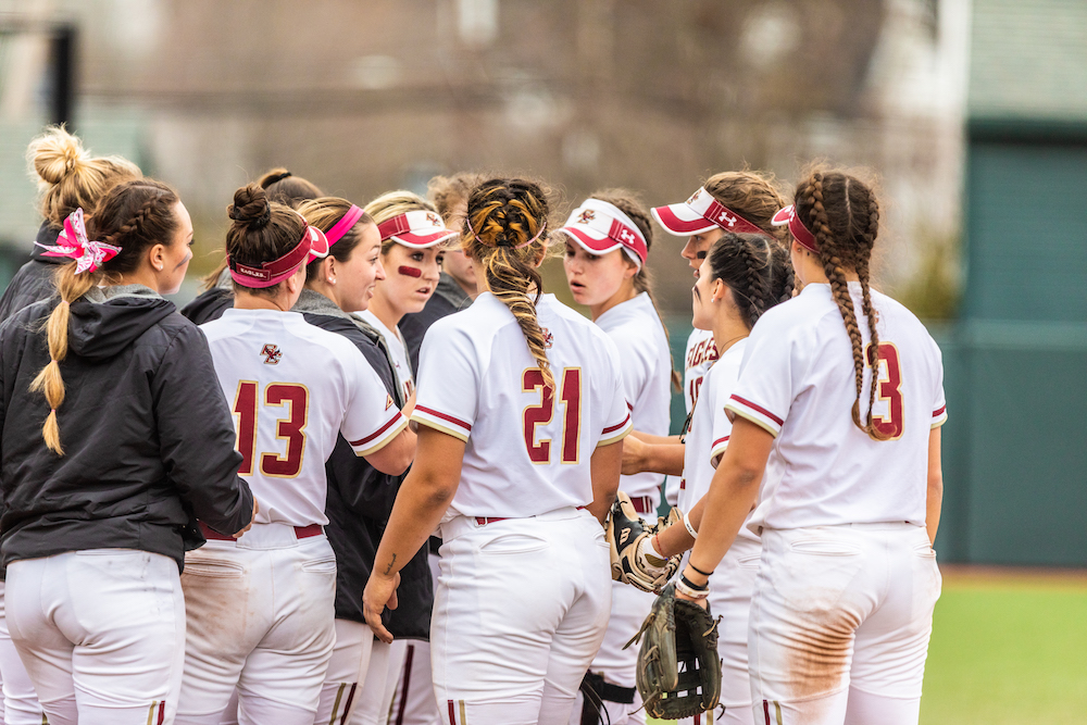 Eagles Fall to Rival BU on Emily Morrow's Walkoff Triple
