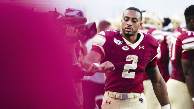 AJ Dillon Ignores the Noise, Focuses on Self Ahead of NFL Draft