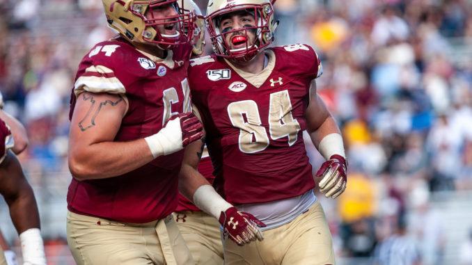 Jake Burt Signed by New England as Undrafted Free Agent