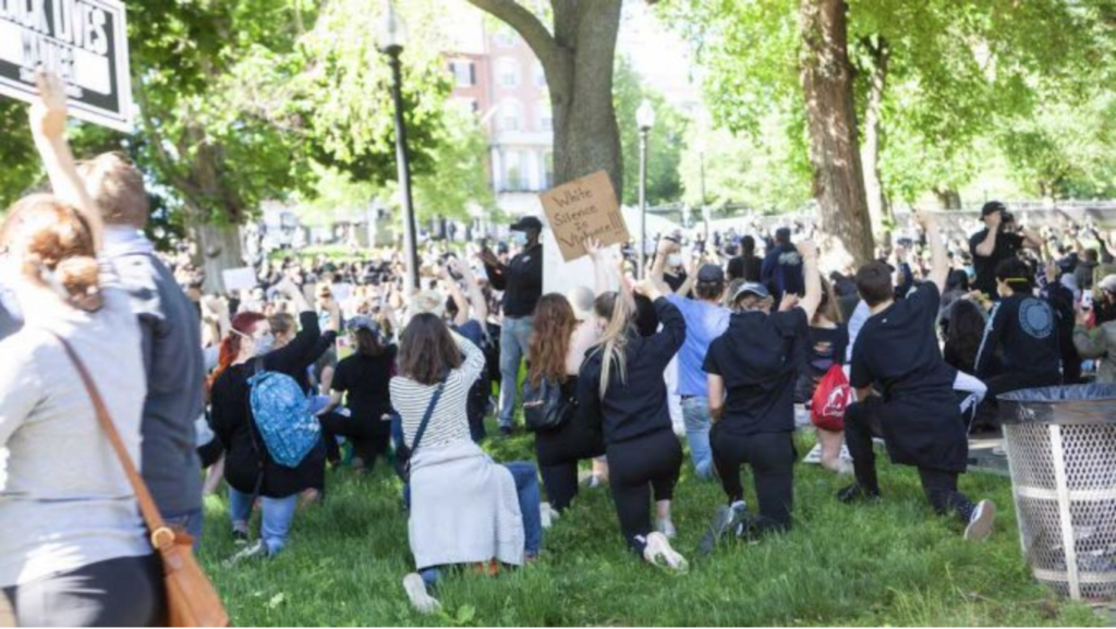 BC Criticized for Sending University Police to Boston Protests