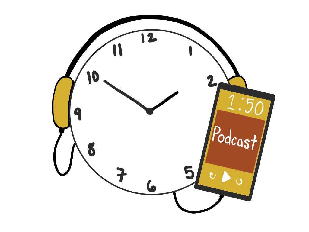 Carmichael: Podcasts to Pass the Time