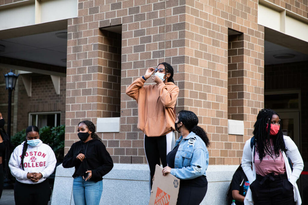 Students Demand Justice For Breonna Taylor, Protest Racism at Boston College