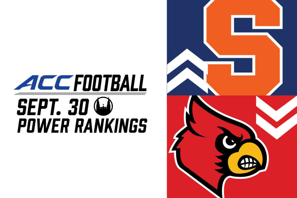 ACC Power Rankings: Top Teams Solidify Their Spots
