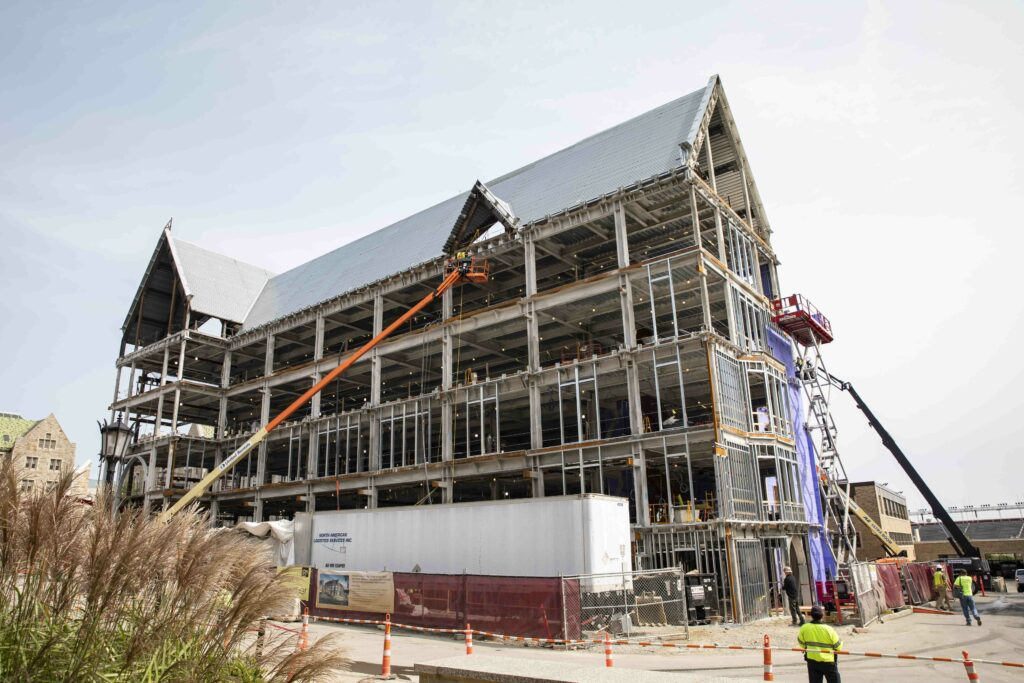 Schiller Institute On Schedule for December 2021 Opening
