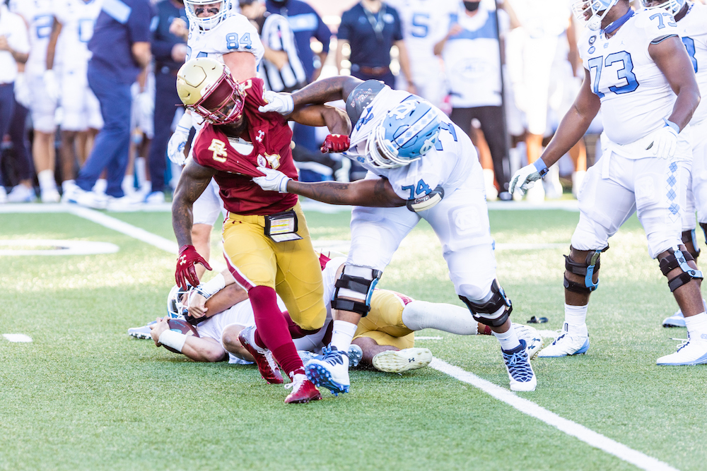 Notebook: Revamped BC Football Falls Just Short Against No. 12 UNC