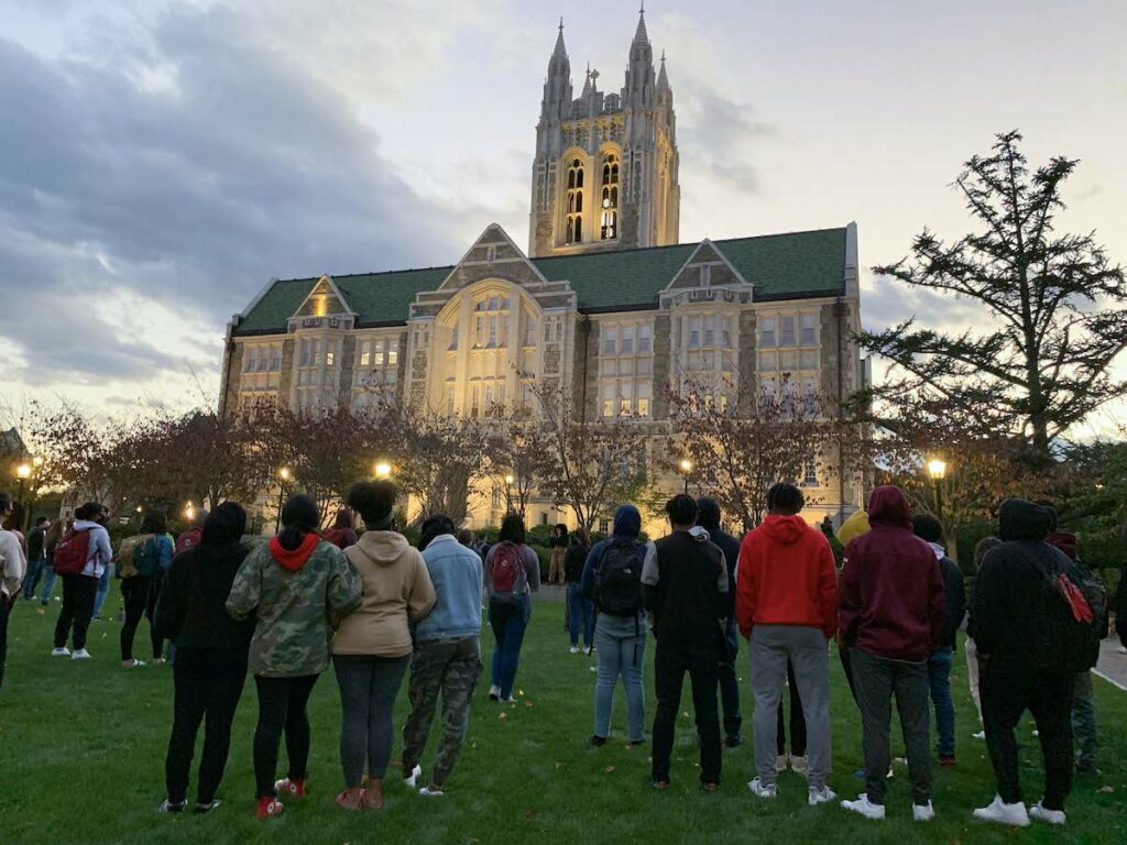 'Neglected, Unprotected, and Disrespected': Students Honor Black Women with Candlelit Vigil