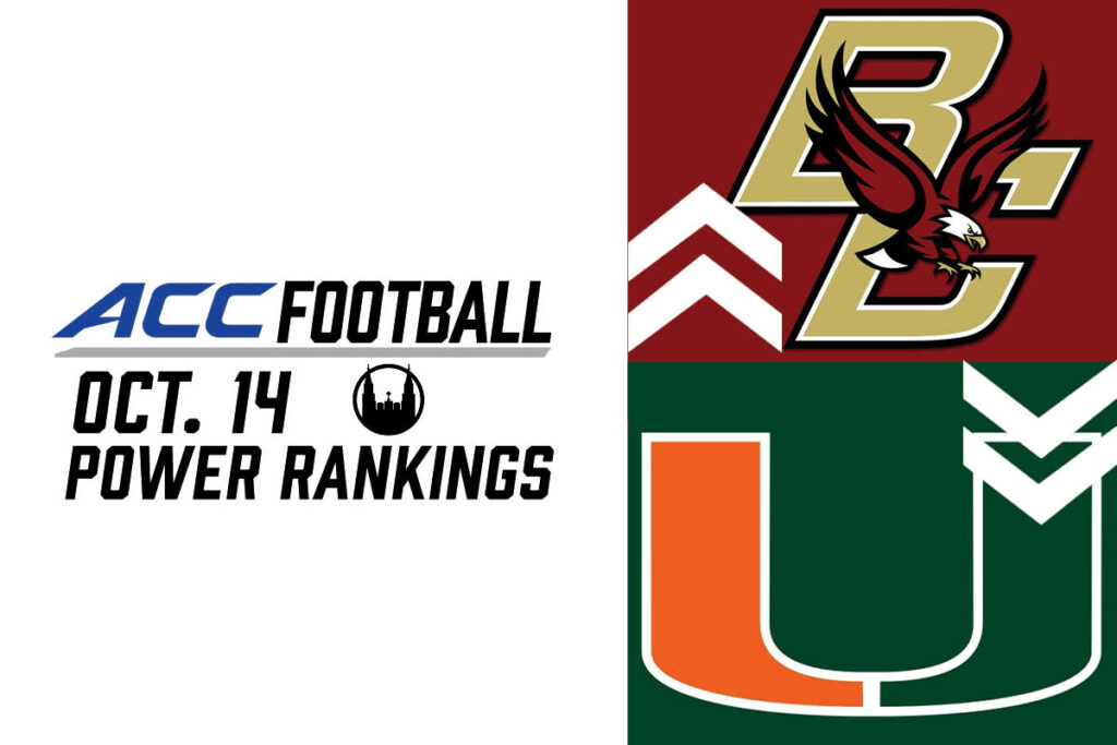 ACC Power Rankings: The Calm Before the Storm