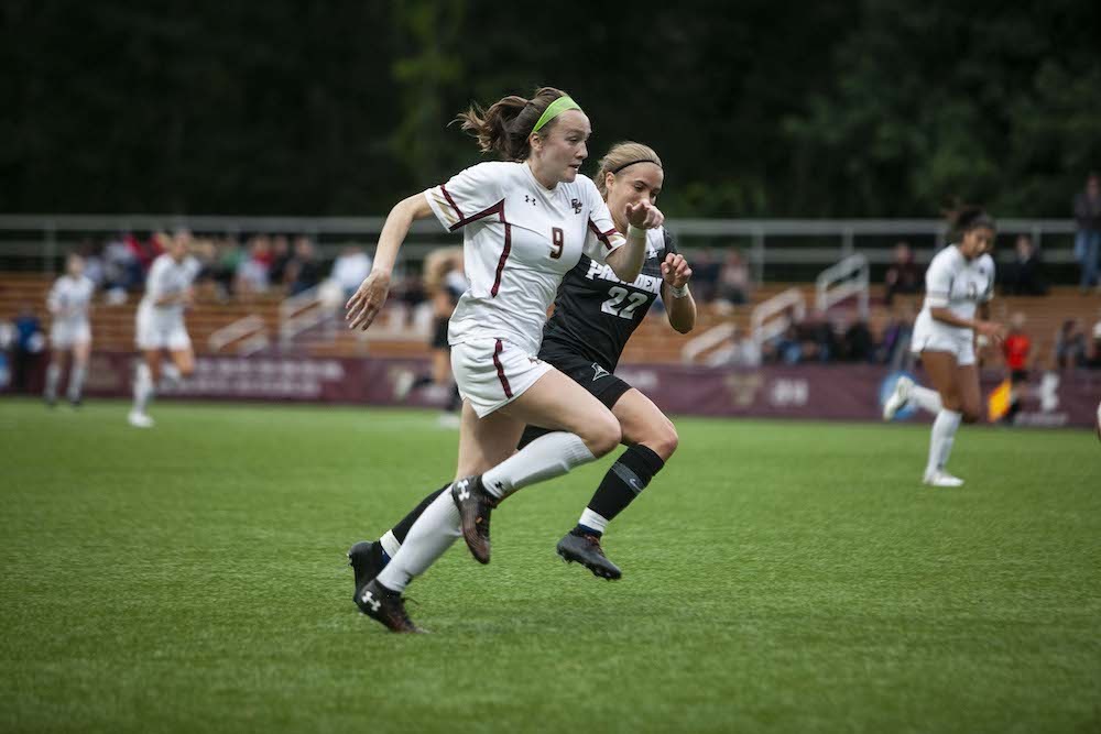 Eagles Overmatched by Top Ranked Tar Heels