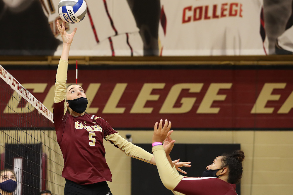 Irish Stifles BC Following Its Second Set Victory, Eagles Winless in 2020 Season