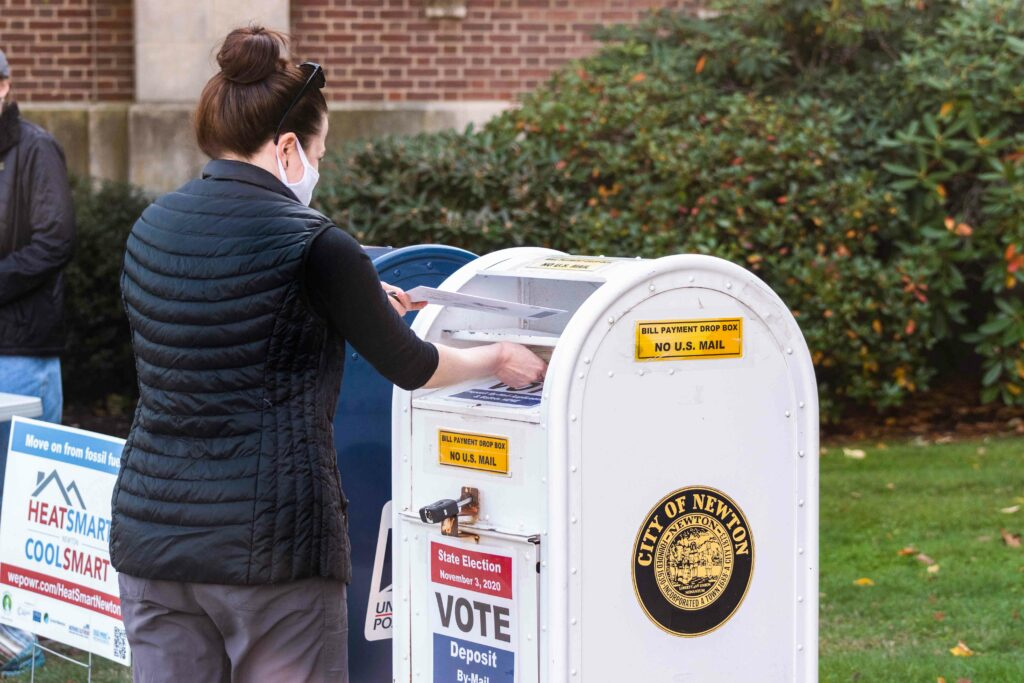 Requests for Mail-In Ballots Rise in Newton