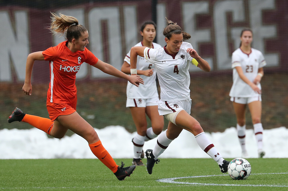 Hokies Overwhelm Eagles in Second Half, Win 3-0