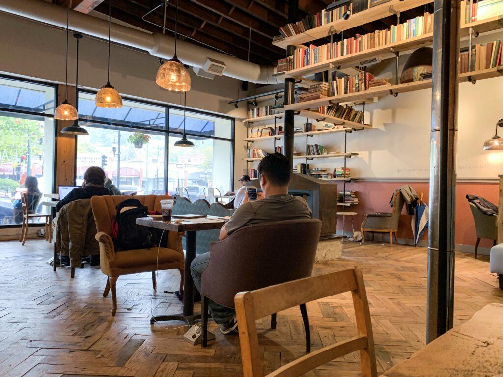 Caffe Nero Comes to Newtonville