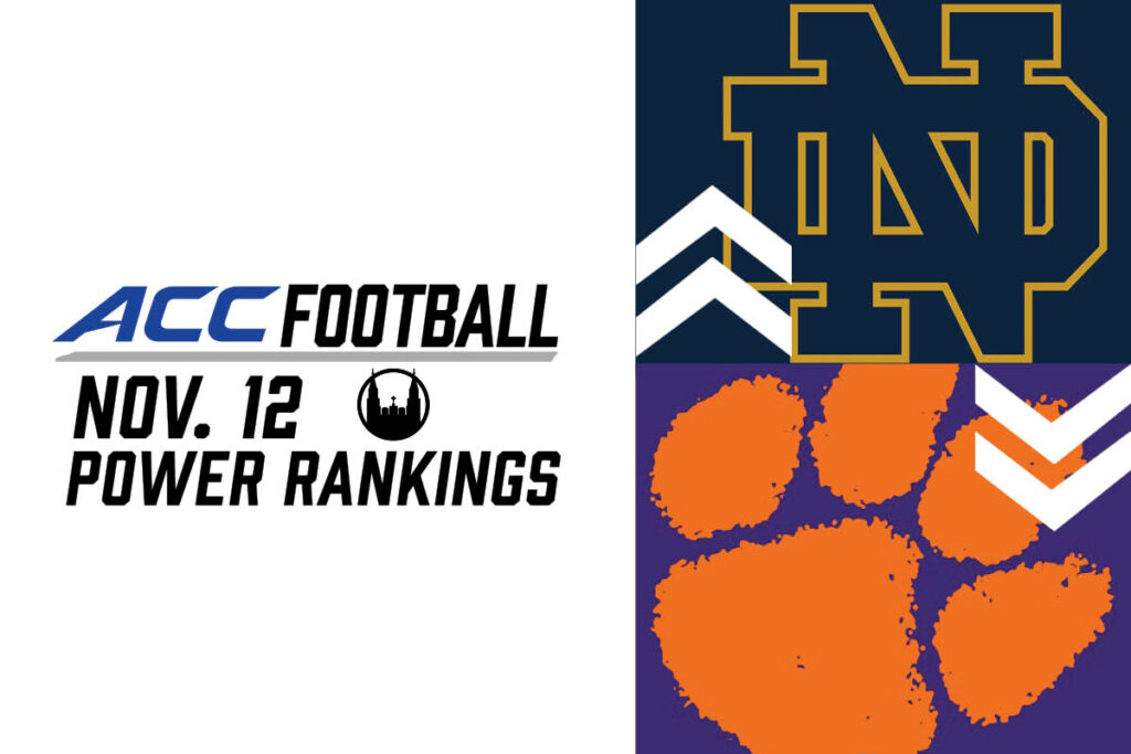ACC Power Rankings: Down Goes Clemson