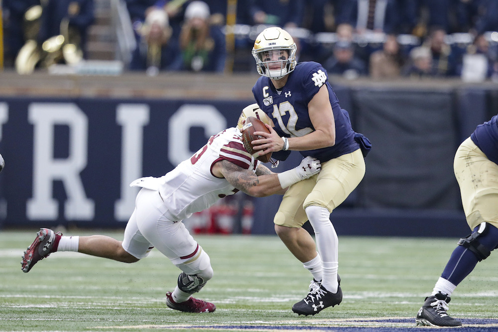Previewing 2020 Football: vs. Notre Dame