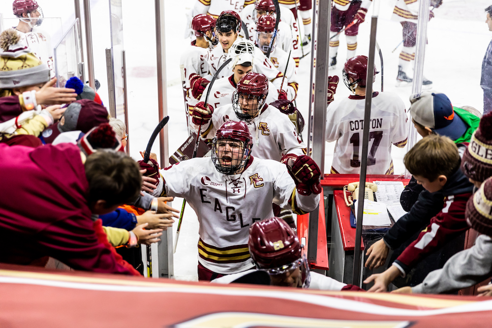 Boston College Men's Hockey Releases 2020-21 Schedule