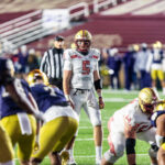 Eagles Fall Short in Highly Anticipated Red Bandanna Game Against No. 2 Notre Dame