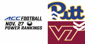 ACC Power Rankings Week 12