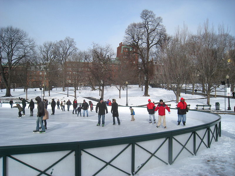 Frog Pond Closes For Ice Skating For First Time