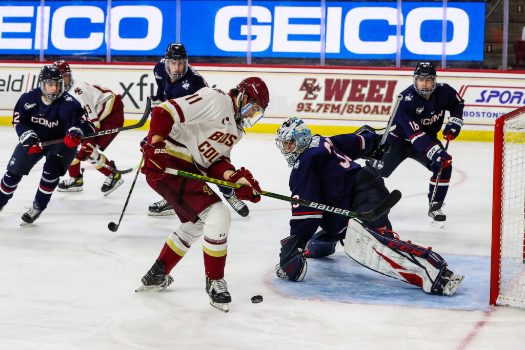 UConn Shatters Eagles' Perfect Start