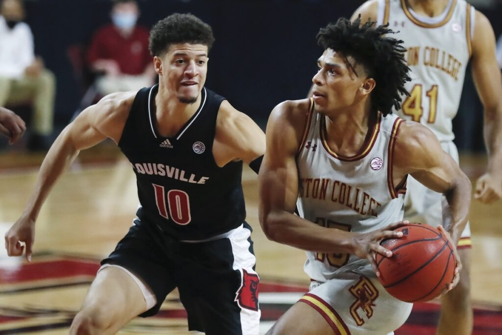 Eagles Open New Year With Blowout Loss to Louisville