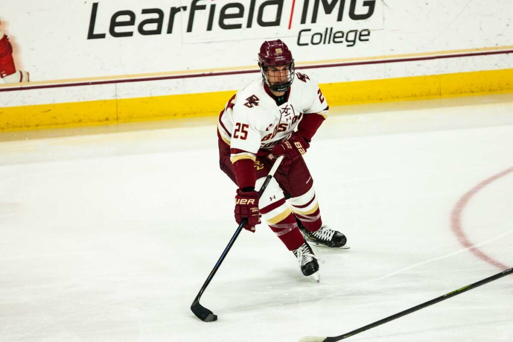 McLaughlin Nets Game Winner To Complete Weekend Sweep