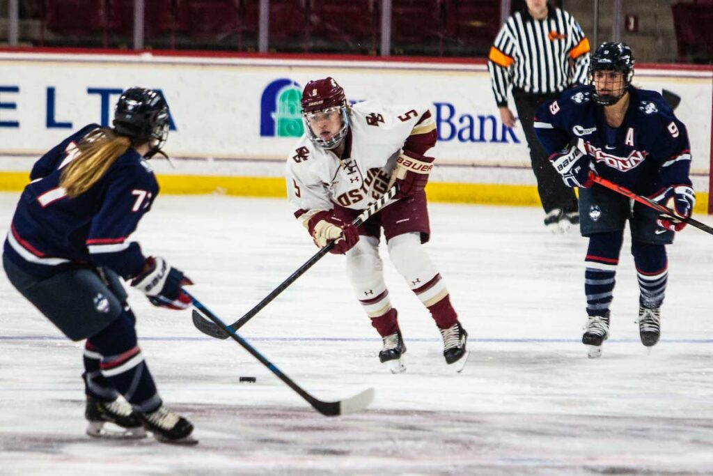 Levy Leads BC to Shutout Win Over UConn