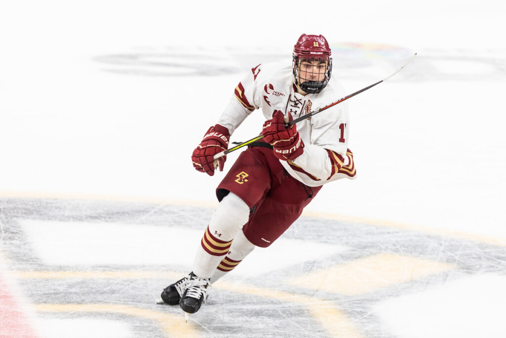 BC Falls to BU, Splits Battle of Comm. Ave.