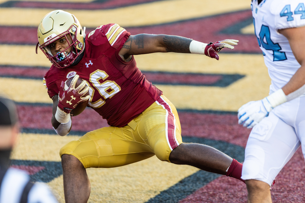 BC Running Back David Bailey Enters Transfer Portal