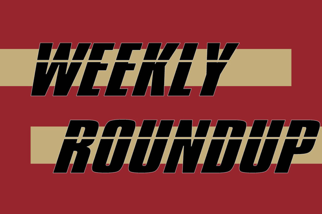 Weekly Sports Roundup: Week of April 12