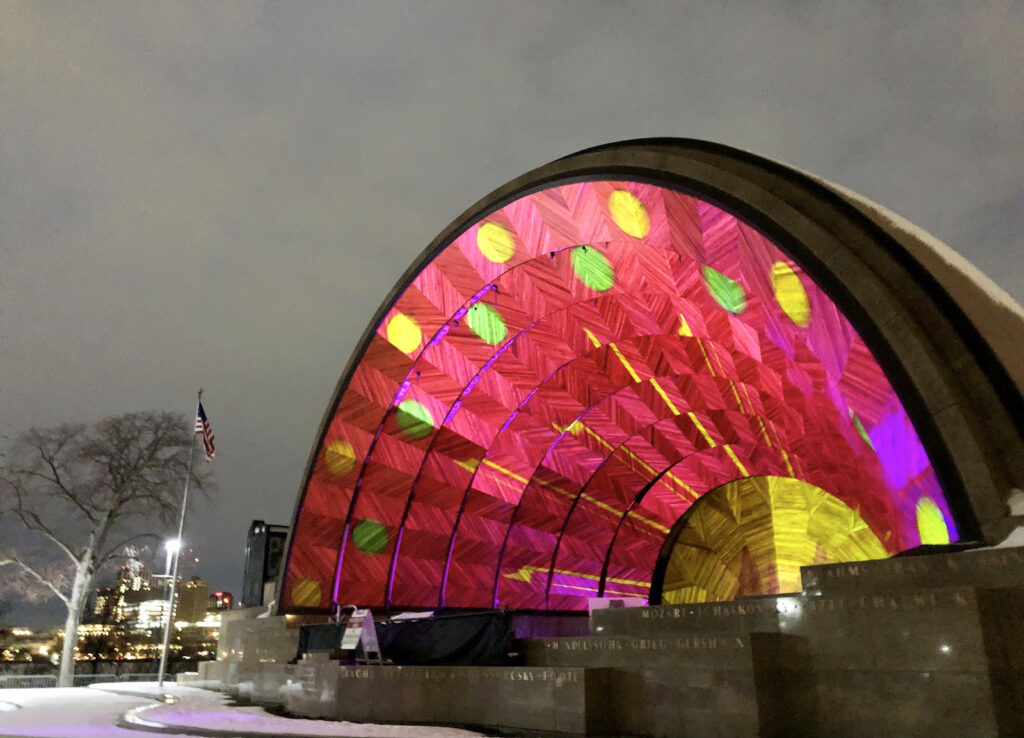 Outdoor Art Show 'Hatched: Breaking Through the Silence' Brightens Boston Winter