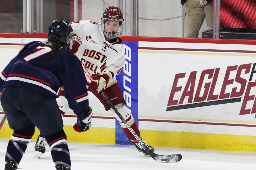 Notebook: Eagles Eliminated from Hockey East Tournament