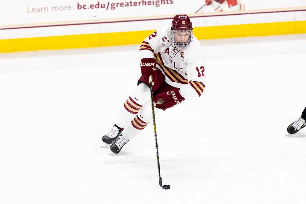 Boldy Nets Two, Eagles Earn No. 1 Seed In Hockey East Tourney