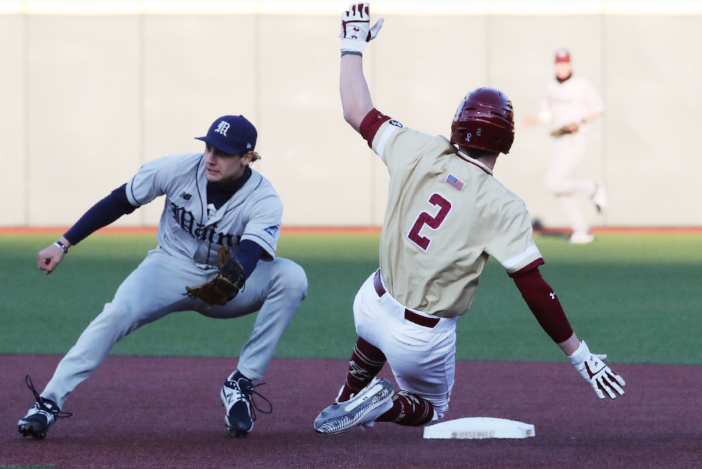 """BC's """"Relentless Offense"""" Lifts Eagles Over Maine"""