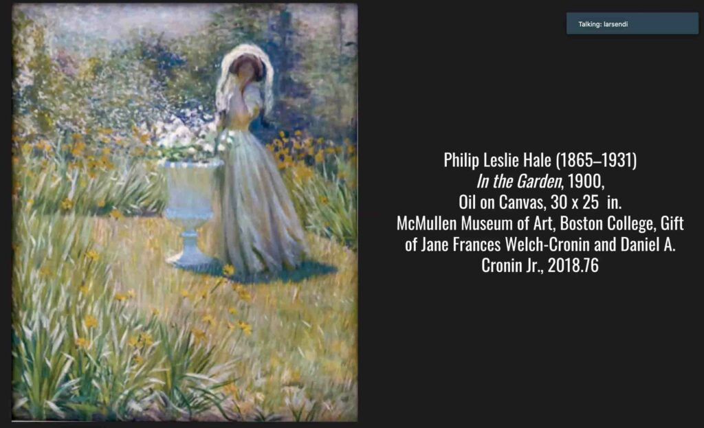 McMullen Presentation Highlights New England Artists