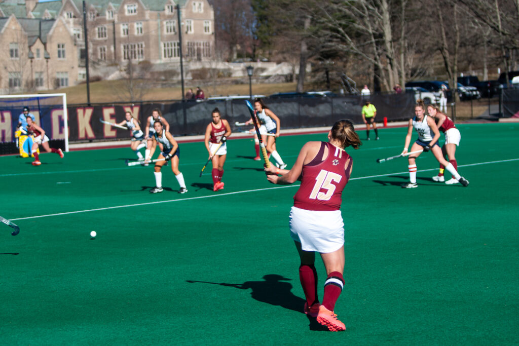 BC Shuts UNH out for Its Second Win of the Season