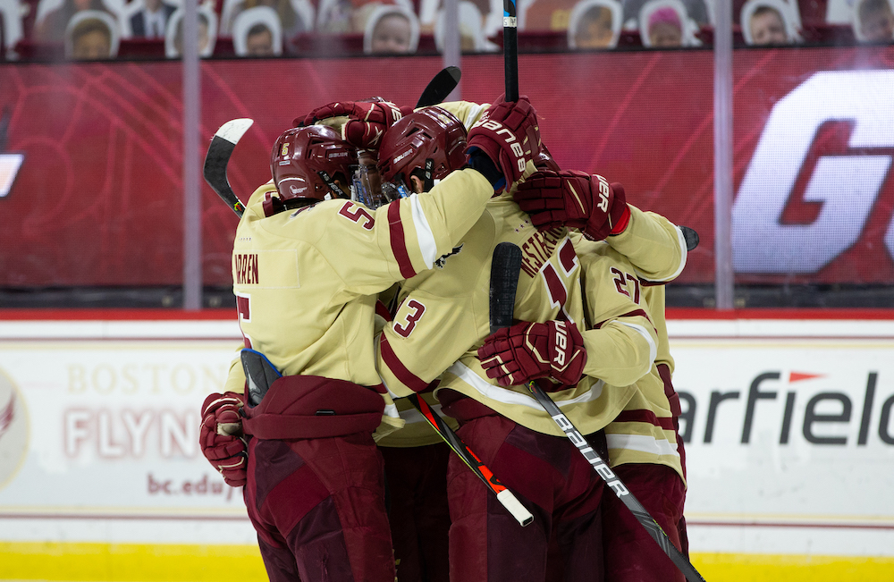 BC Hangs On To Defeat UNH, Advance To Hockey East Semifinals