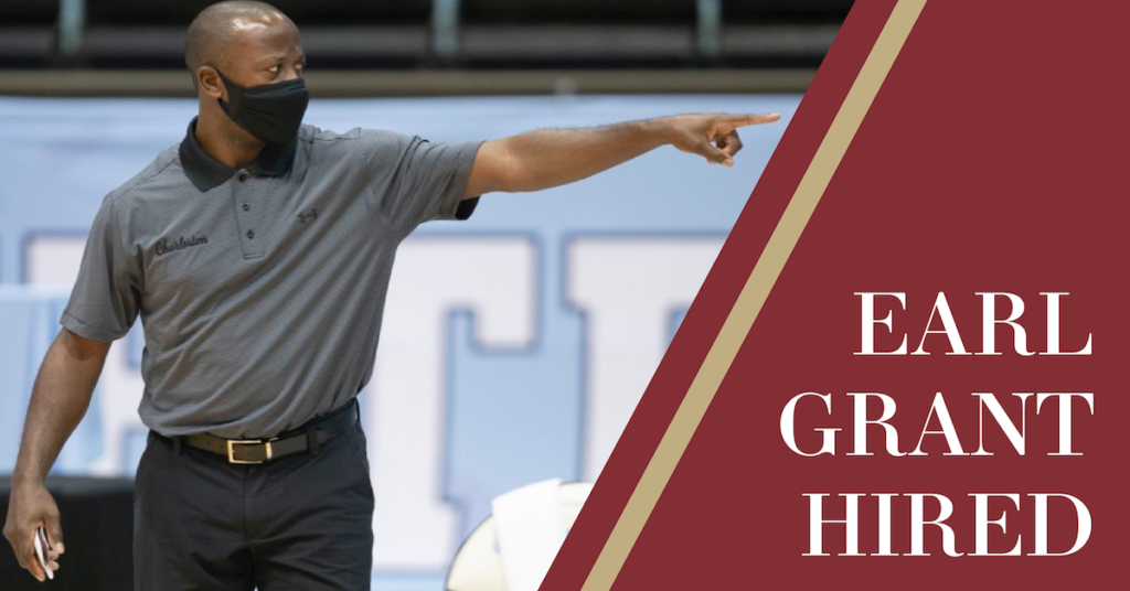 BC Hires Earl Grant as Men's Basketball Coach